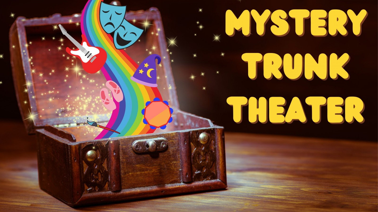Mystery Trunk Theater.
